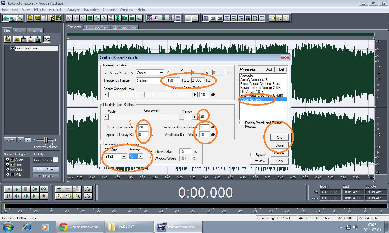 Vocal Remove Using Adobe | Mega Files